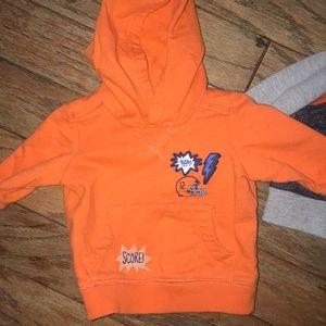 Carter's Shirts & Tops - Bundle of 2 little boys hooded sweatshirts